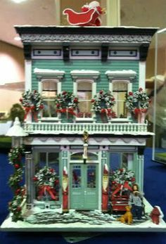 Christmas decorations for dolls houses