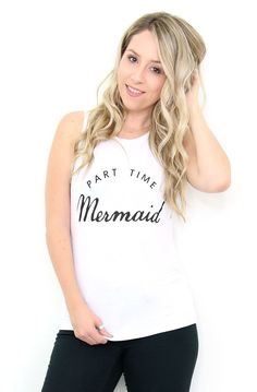 Part Time Mermaid Graphic Tank