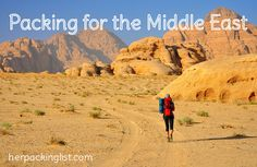 Female packing list for the Middle East - clothing + how to dress. Great tips!