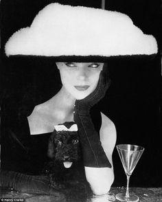 Ciao Bellissima - Vintage Glam; Model Ivy Nicholson wearing Balenciaga, 1954