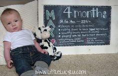 Max = 4 Months! Baby brother is growing up!