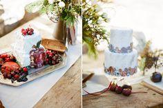 snow white wedding cakes