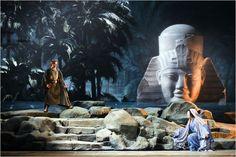Aida (Teatro Alla Scala) Designed by Franco Zeffirelli. What a great mood
