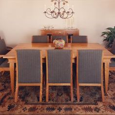 Dining Table & Chairs by Clay Baker