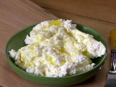 Get Anne Burrell's Homemade Ricotta Recipe from Food Network