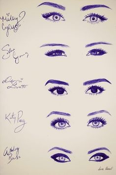 Wow, I've never noticed the major differences before between their eyes before, great artistic interpretation