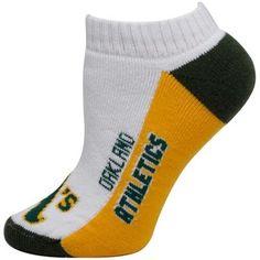 Oakland Athletics Women's Script Ankle Socks - White