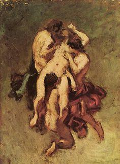 Cursed Woman Painting 1859 : cursed, woman, painting, Nicolas, François, Octave, Tassaert, (French,, 1874), Nicolas,, Painting,, Artist