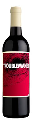 Hope Family Wines - Troublemaker, a little smokey, a little sweet, a little sour. Complex, berries, great alone or with pork.