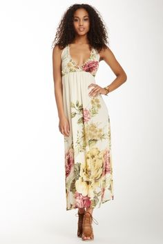 Floral Maxi Dress from HauteLook on Catalog Spree