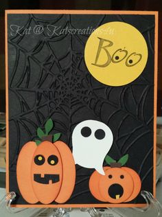 Stampin up Halloween card. See This on EBAY!