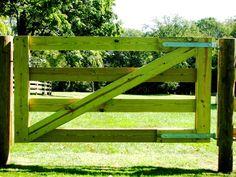 4-Rail Horse Gate