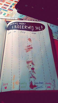 Podesłała Justyna Fehring-Dworak #zniszcztendziennik #kerismith #wreckthisjournal #book #ksiazka #KreatywnaDestrukcja #DIY