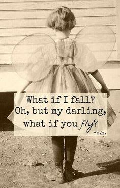 """What if I Fall? Oh, but my darling what if you fly?"" by Erin Hanson  #ohfarma2015 #consejosdefarmacia #cdf_nheken #consejosdefarmacia_nheken #cdf #farmablogger #farmacia #farmaciaybelleza #dermofarmacia #dermocosmetica #ilovedermo"