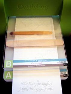 TUTORIAL - Preventing embossing folder lines More
