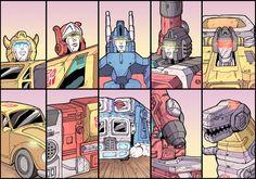 Five More bots by Raydzl.deviantart.com on @deviantART