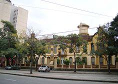Azulejos antigos no Rio de Janeiro: Maracanã Ib - Hospital Gaffrée e Guinle