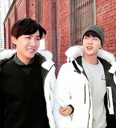 2Seok || BTS Jin & J-Hope || Bangtan Boys Kim Seokjin & Jung Hoseok