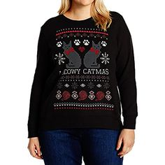 f2de90ff58837 Women s Plus Size Tops Christmas Celebration Long Sleeve Pullover Tees  Oversize With Letter and Pattern Printing