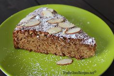 Gluten Free Almond Cake with Honey Mascarpone
