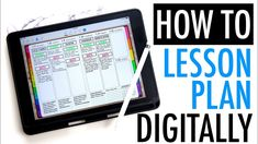 How to Digital Lesson Plan With An iPad Music Lesson Plans, Teacher Lesson Plans, Music Lessons, Pocketful Of Primary, Apps For Teachers, Best Ipad, Future Videos, Elementary Teacher, Music Education