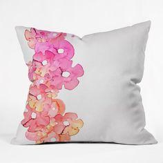 Monika Strigel Fantasia Flurished Throw Pillow | DENY Designs Home Accessories