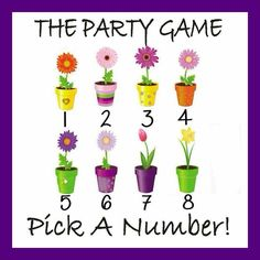 Let's play a game!  All you have to do is pick a number. No matter what flower you pick, you will win a prize. Some prizes are Jamberry wraps and others are wraps and a party for you and your friends. Here is the best part, there is one GRAND PRIZE! Choose that flower and get an extra special treat. It's post your choice in the comments and I will pm you your prize. #saratomasheski.jamberrynails.net