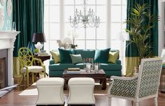 Green is seriously glam