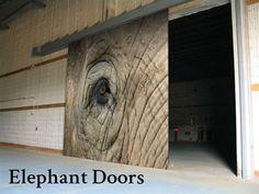 Sliding Acoustical Doors, Elephant Doors