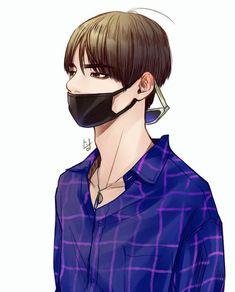 Resultado de imagen de taehyung chibi