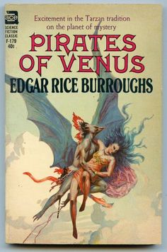 F-179 EDGAR RICE BURROUGHS Pirates of Venus (cover by Roy Krenkel Jr.; 1963)