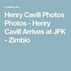 Henry Cavill Photos Photos - Henry Cavill Arrives at JFK - Zimbio