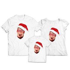 Chcekoszulki.pl - Zestaw świąteczny koszulka dla mamy taty i dziecka Kevin | Kategorie \ Świąteczne Body, Fashion, Moda, Fashion Styles, Fashion Illustrations