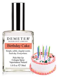 Have you wondered what a Birthday Cake would smell like as a perfume? Well Demeter Fragrance Library is on it:) http://talkingmakeup.com/beauty/the-best-smells-of-life-by-demeter-fragrance-library/#