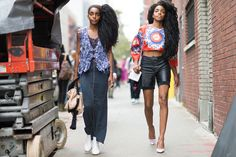 Street style at #NYFW September 2015