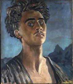 """""""Self-portrait"""" by Mervyn Peake, 1931"""