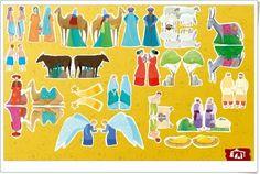 """""""El Gran Belén de Navidad"""" (Juego de composición del Belén) Celebration Around The World, Advent, Nativity, Kids Rugs, Seasons, Traditional, French Stuff, Saint Nicolas, Dates"""