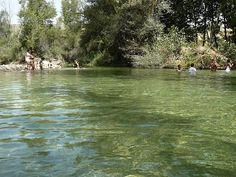 River pools La Resinera Granada