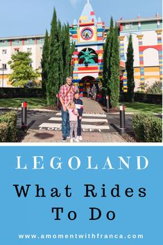 LEGOLAND: What Rides To Do • If you're heading to Legoland Windsor then take a look at what rides we loved! Tips and tricks for making the most of your family day out to Legoland!  #legoland #lego #travel #legolandwindsor