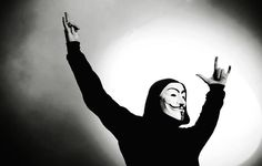 We are Anonymous. We are Legion. We do not forgive. We do not forget. Expect us. Manado, V For Vendetta Comic, Joker Photos, Learn Computer Coding, Anonymous Mask, Hacker Wallpaper, Paris Wallpaper, This Is Your Life, Guy Fawkes