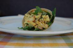 Paleo Wraps met kip-kerrie salade