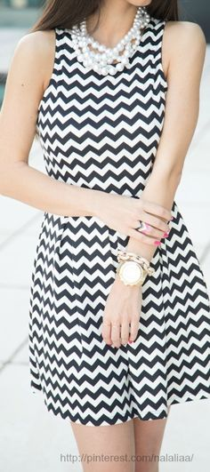 Chevron...love it style..Street style ♥ na