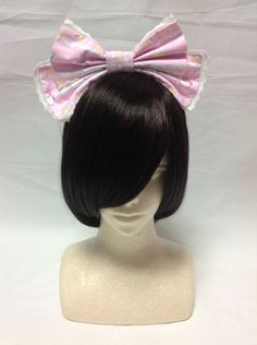 Cotton Candy Shop Head Bow in Pink from Angelic Pretty - Lolita Desu