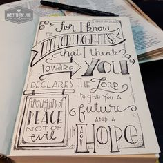Image result for bible art lettering