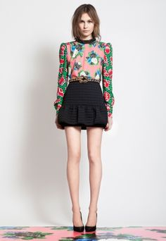 proportions + bold shoulders // http://msgm.it/collections#woman-pre-fall-2012
