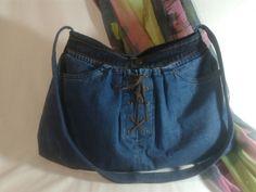 Jeans shulder bag denim  ildi'sjeans jeans hand bag and crafts