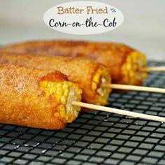 Batter Fried Corn on the Cobb