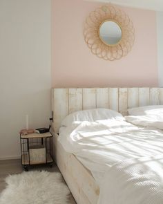15 shades of pink for your wall - Makeover.nl Your bedroom is not just . 15 shades of pink for your wall - Make. Home Office, Sweet Home, Wall, Furniture, Home Decor, Bedrooms, Shades, Pink, Decoration Home
