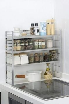 cm can be used as a normal kitchen shelf contro said rack 34812 spy silk can be used far as x 56 cm (depth) Kitchen Shelves, Diy Kitchen, Kitchen Gadgets, Kitchen Storage, Kitchen Decor, Kitchen Cabinets, Kitchen Ideas, Kitchen Inspiration, Kitchen Designs