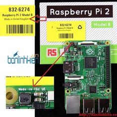 Raspberry Pi 2 ( Made in UK )_Raspberry_KIT Phát Triển_Linh Kiện Điện Tử Minh Hà - BanLinhKien.Vn - MinhHaGroup.Com